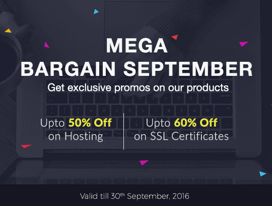 Mega Monsoon Sale