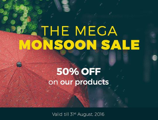 Mega Monsoon Sale